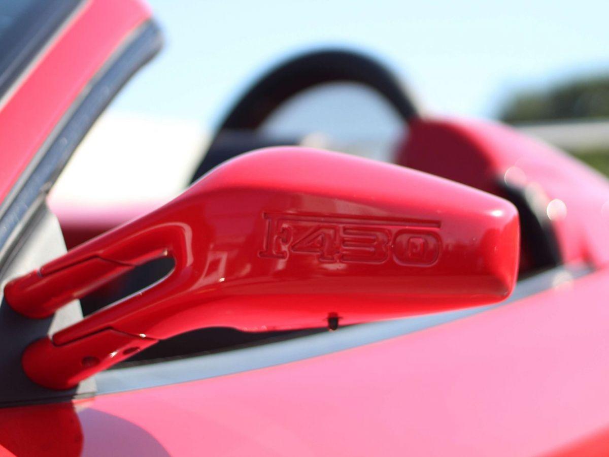 Ferrari F430 Spider F1 490CH Rouge Foncé - 33