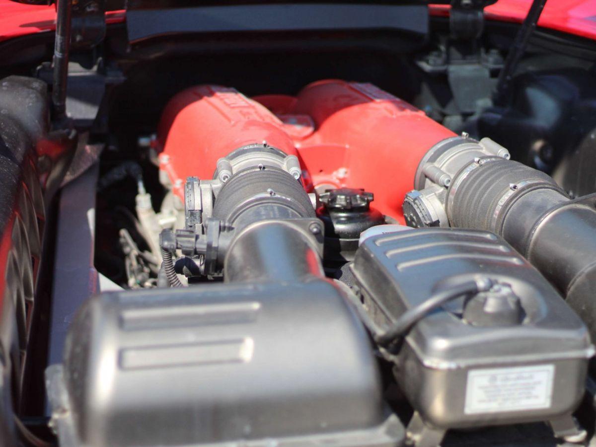 Ferrari F430 Spider F1 490CH Rouge Foncé - 34