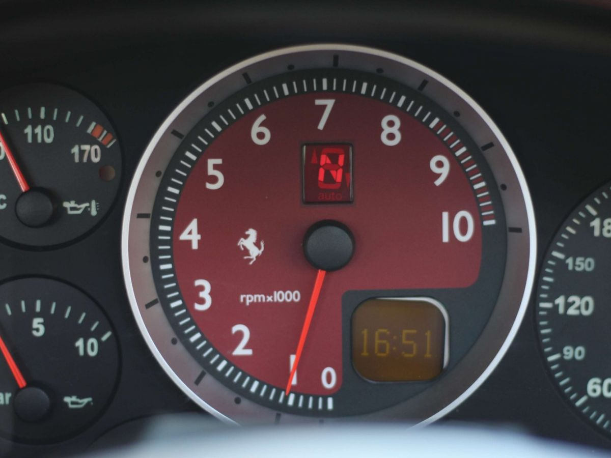 Ferrari F430 Spider F1 490CH Rouge Foncé - 39