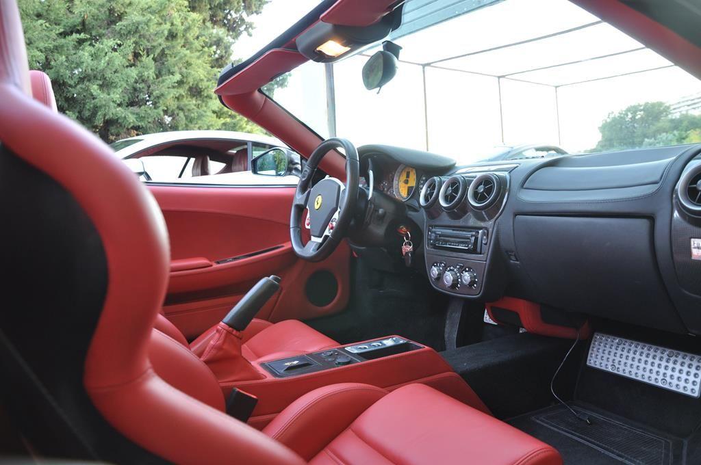 Ferrari F430 Spider V8 F1 Gris Silverstone - 10