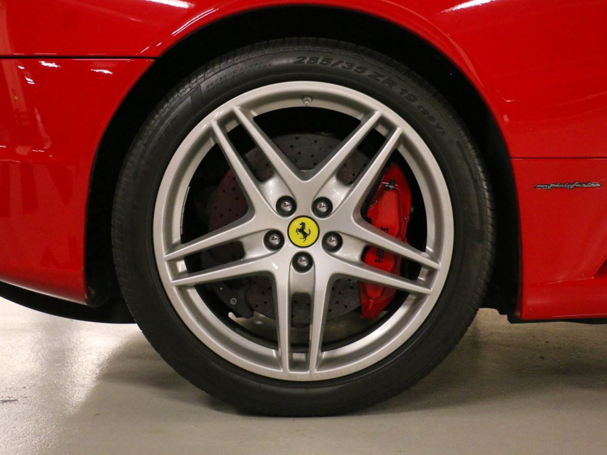 Ferrari F430 V8 F1 Rouge Métallisé - 13