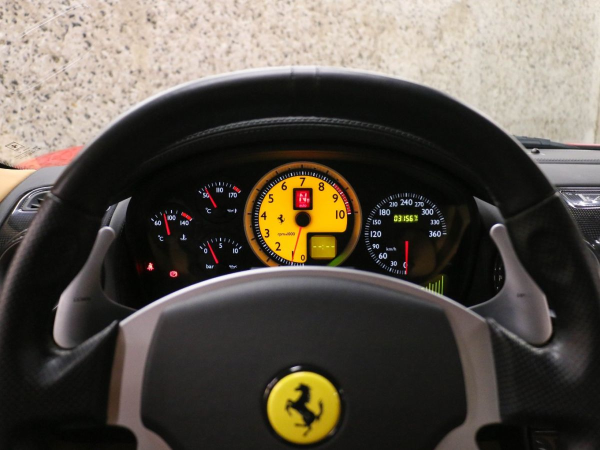 Ferrari F430 V8 F1 Rouge Métallisé - 41