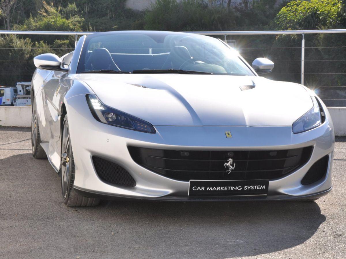 Ferrari Portofino 3.9 V8 T 600CH Gris Clair - 3