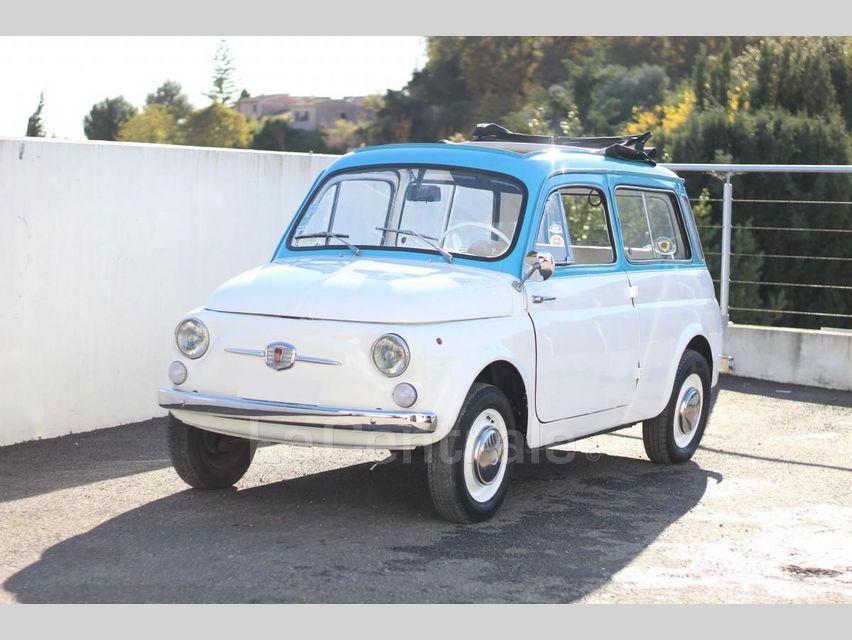 Fiat 500 GIARDINIERA Blanc - 1