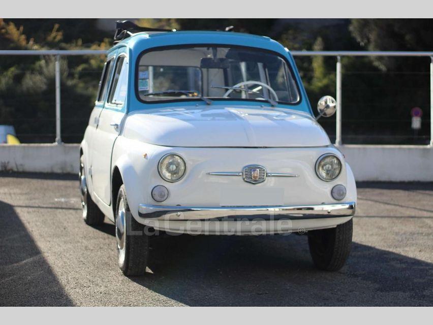 Fiat 500 GIARDINIERA Blanc - 2