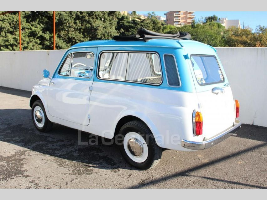 Fiat 500 GIARDINIERA Blanc - 4