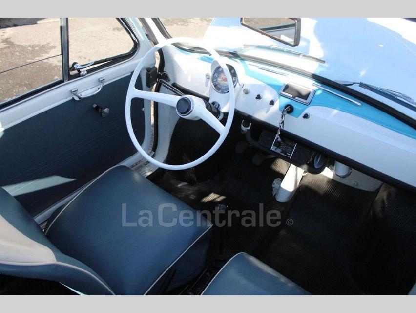 Fiat 500 GIARDINIERA Blanc - 7