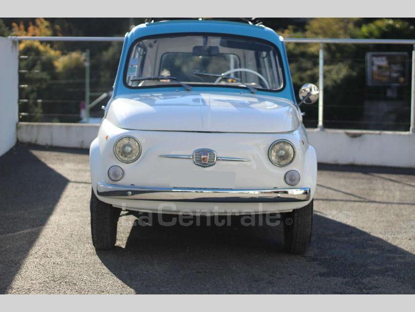 Fiat 500 GIARDINIERA Blanc - 11