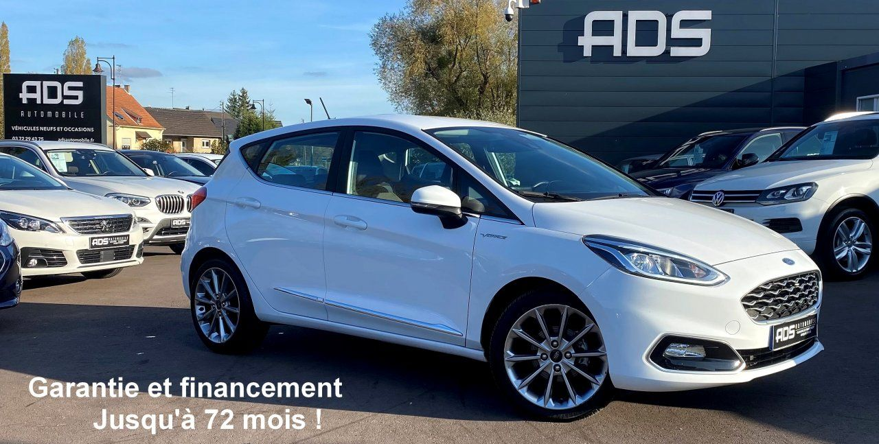 Ford Fiesta V 1.0 EcoBoost 100ch Stop&Start Vignale 5p Occasion