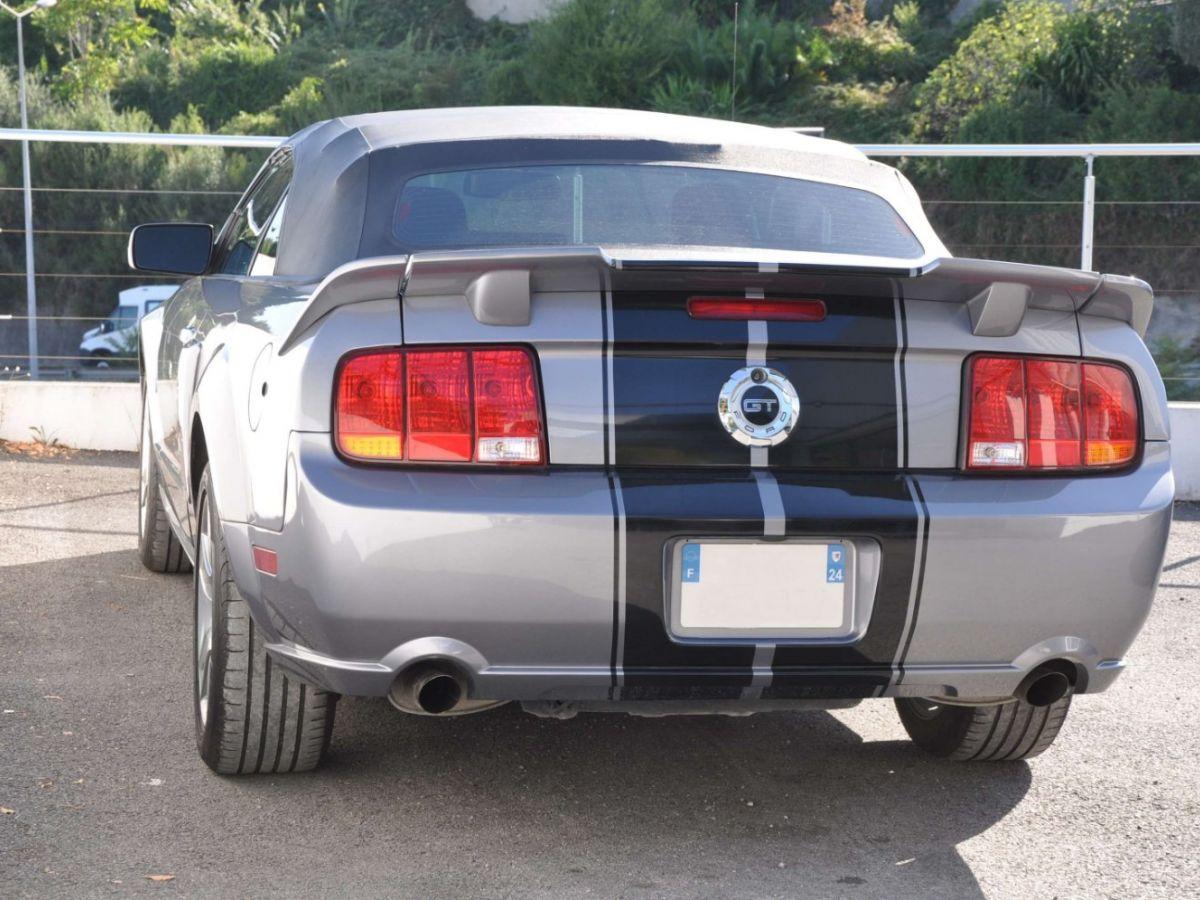 Ford Mustang 4.6 V8 Cabriolet Gris Foncé - 6