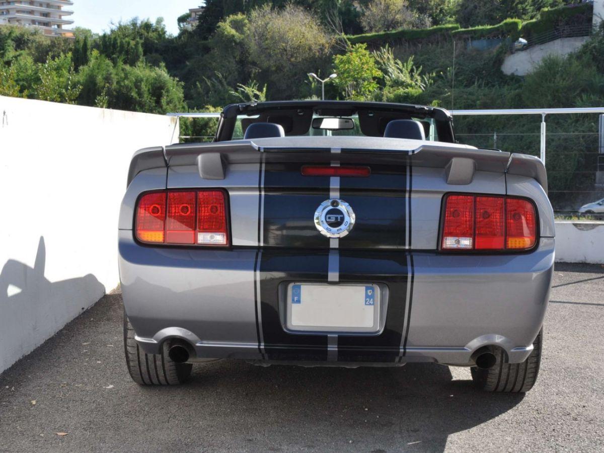 Ford Mustang 4.6 V8 Cabriolet Gris Foncé - 9