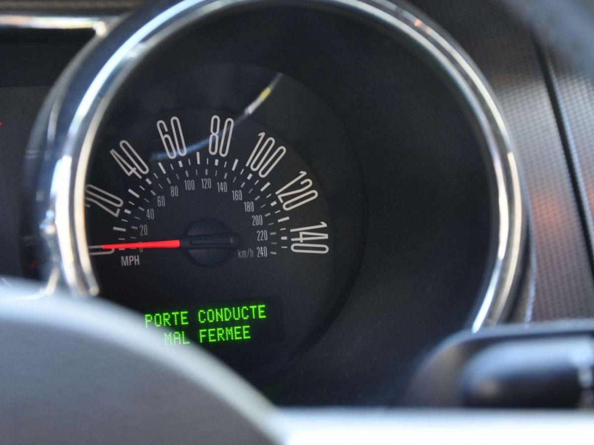 Ford Mustang 4.6 V8 Cabriolet Gris Foncé - 20