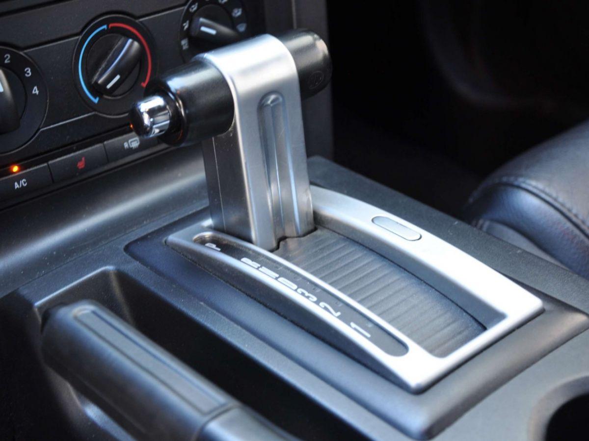 Ford Mustang 4.6 V8 Cabriolet Gris Foncé - 21