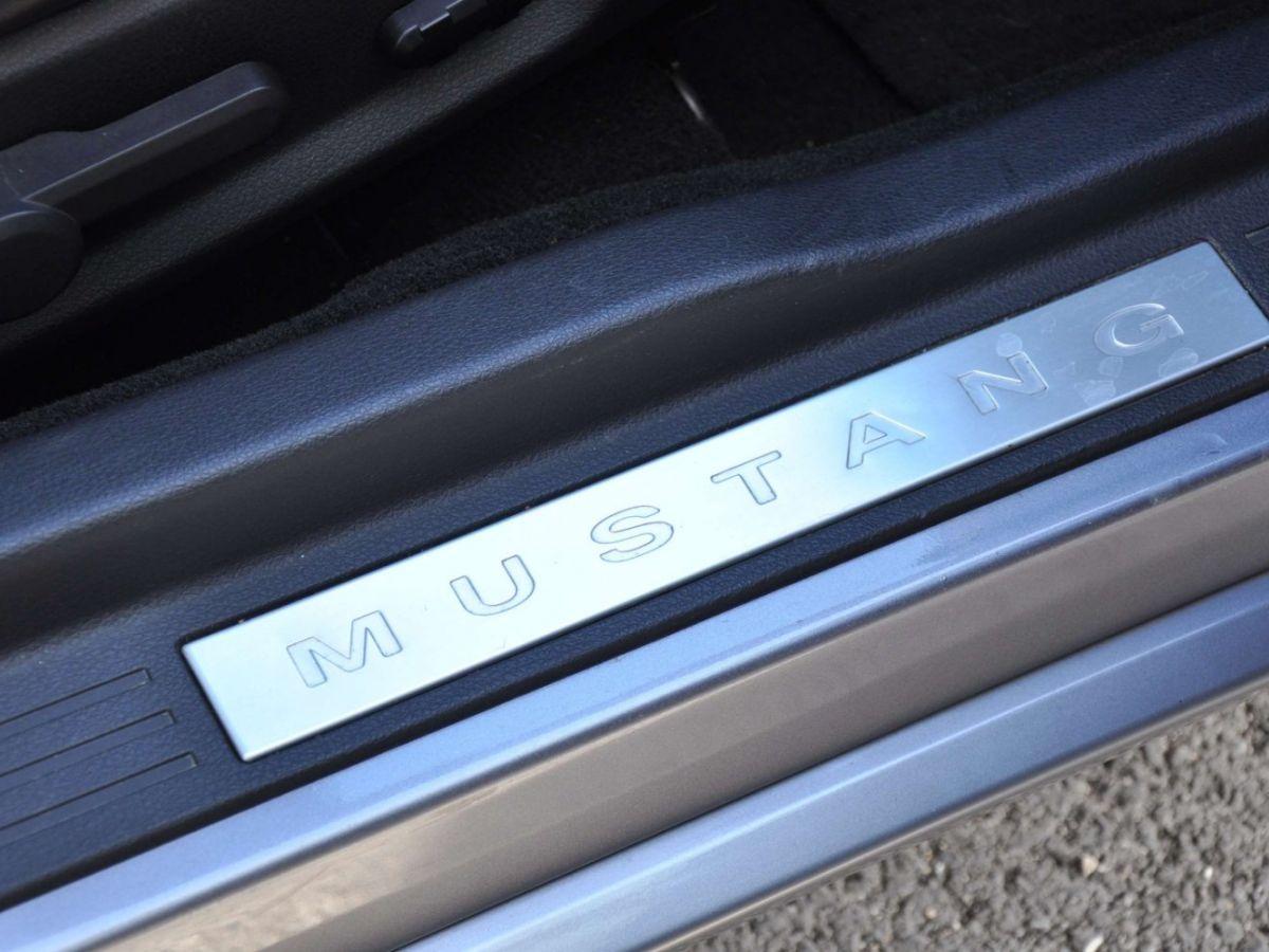 Ford Mustang 4.6 V8 Cabriolet Gris Foncé - 22