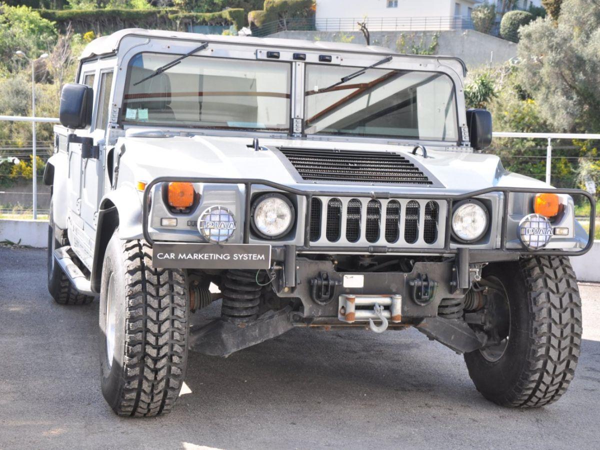 Hummer H1 6.5 V8 TD OPEN TOP Gris Foncé - 3