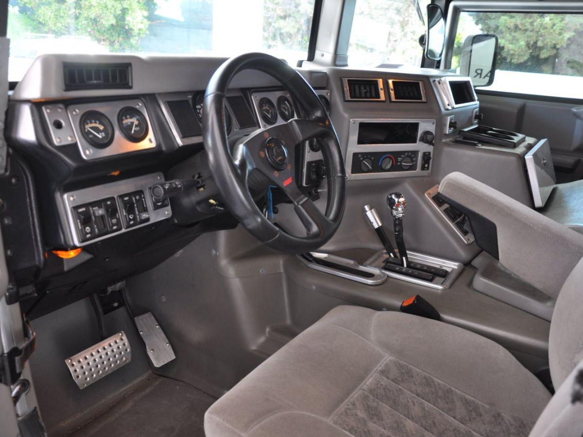 Hummer H1 6.5 V8 TD OPEN TOP Gris Foncé - 8