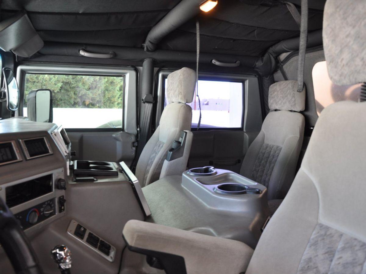 Hummer H1 6.5 V8 TD OPEN TOP Gris Foncé - 10