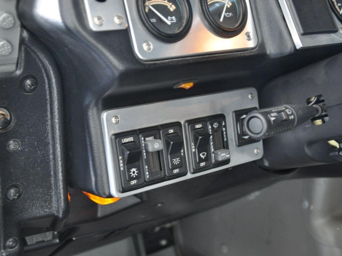 Hummer H1 6.5 V8 TD OPEN TOP Gris Foncé - 11