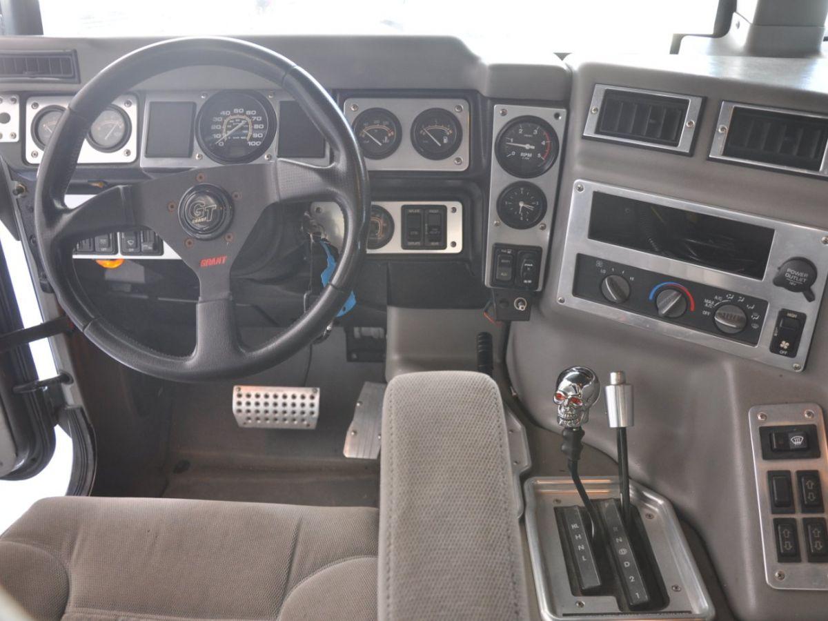 Hummer H1 6.5 V8 TD OPEN TOP Gris Foncé - 16