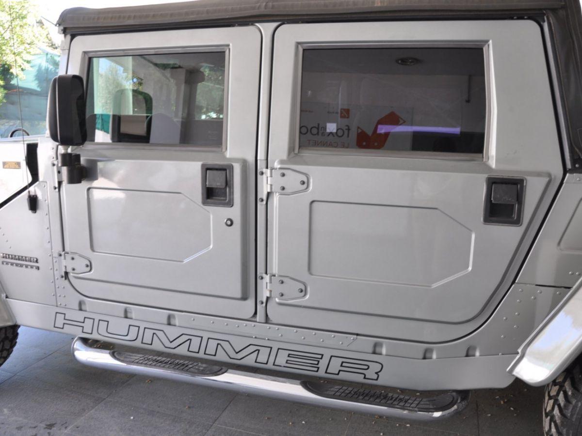 Hummer H1 6.5 V8 TD OPEN TOP Gris Foncé - 18