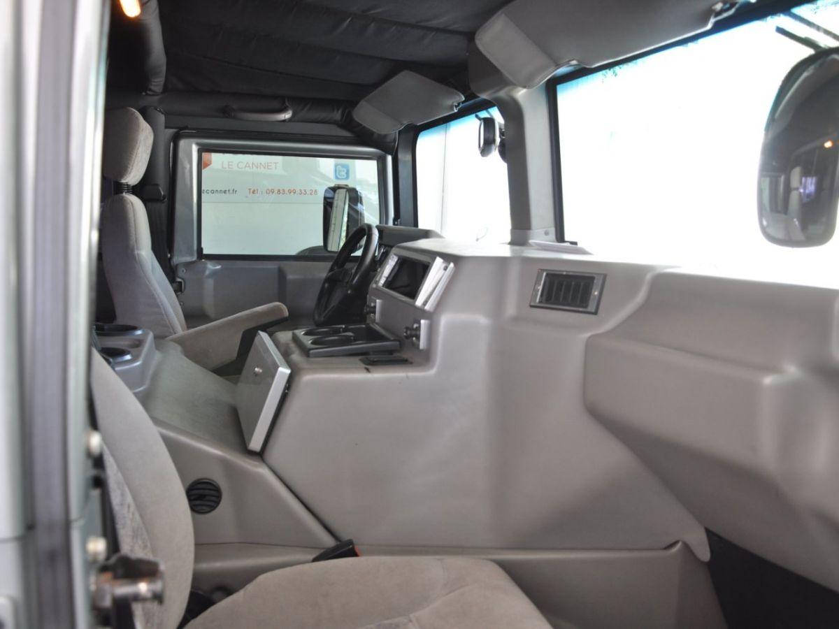 Hummer H1 6.5 V8 TD OPEN TOP Gris Foncé - 20