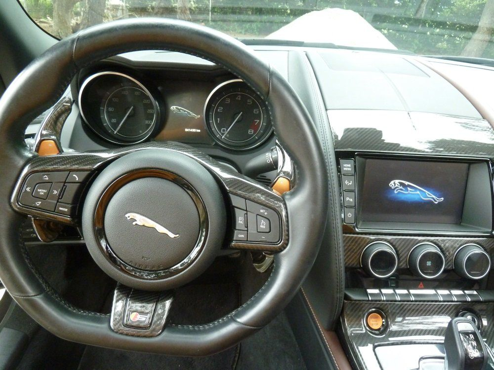 jaguar f-type cabriolet 3 0 v6 s 380 cv occasion perpignan  pyrenees orientales