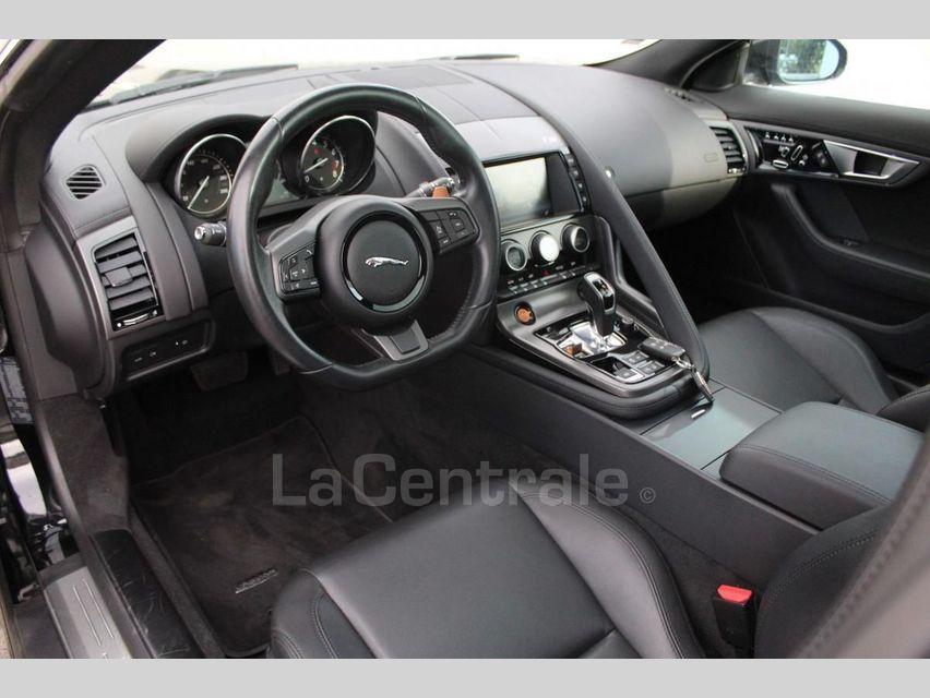 Jaguar F-Type COUPE COUPE 3.0 V6 S AWD AUTO Noir - 8