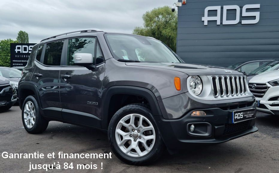 Jeep Renegade 2.0 MultiJet S&S 140ch Limited 4x4 BVA9 Occasion