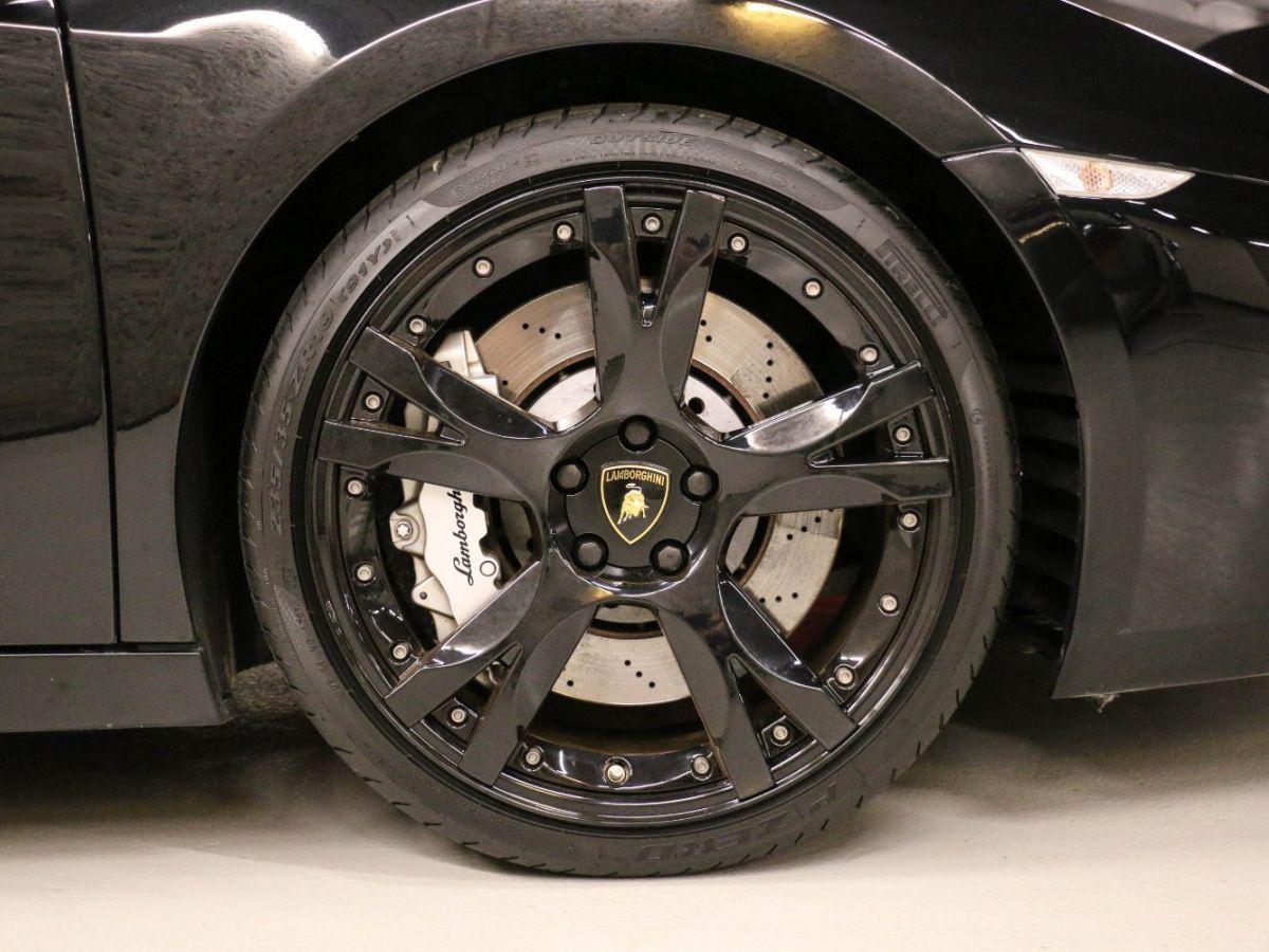 Lamborghini Gallardo 5.0 V10 Nera E-Gear Noir Métallisé - 10