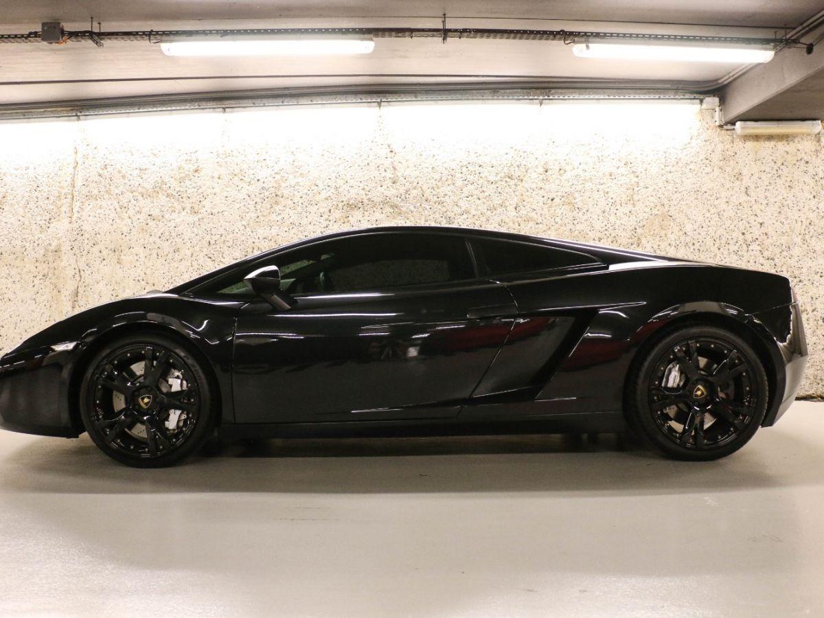 Lamborghini Gallardo 5.0 V10 Nera E-Gear Noir Métallisé - 2