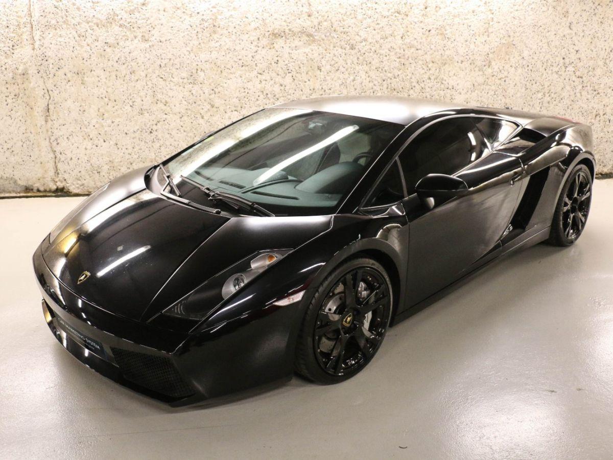Lamborghini Gallardo 5.0 V10 Nera E-Gear Noir Métallisé - 1