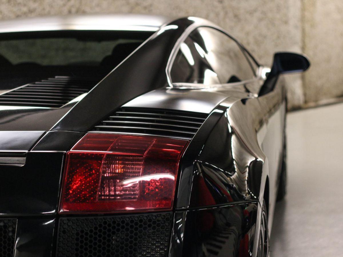Lamborghini Gallardo 5.0 V10 Nera E-Gear Noir Métallisé - 7