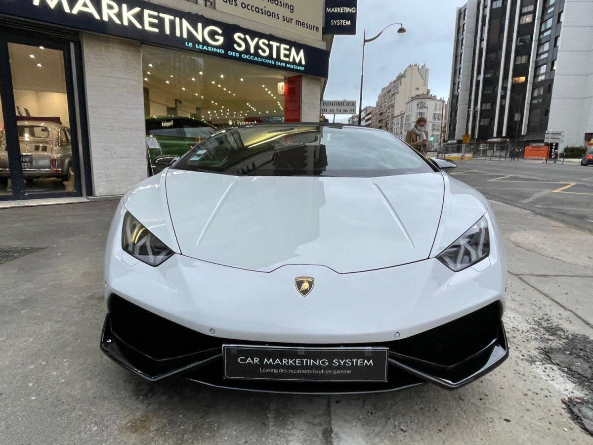 Lamborghini Huracan SPYDER LP 610-4 Blanc - 2