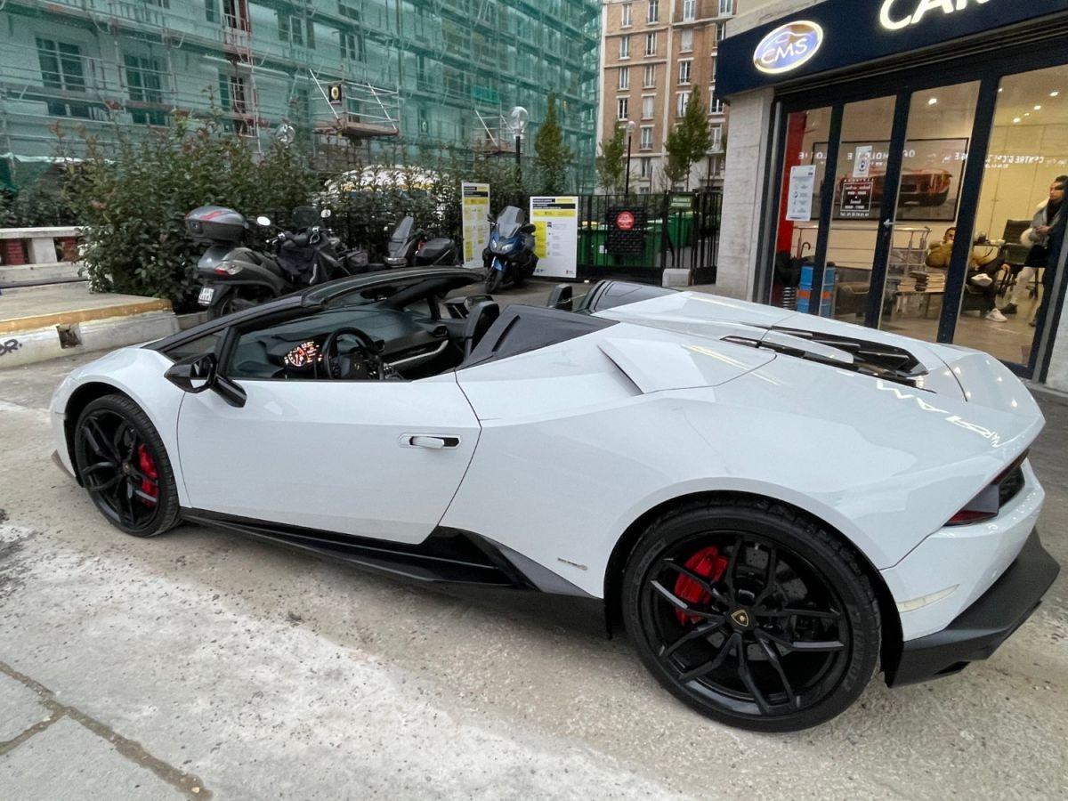 Lamborghini Huracan SPYDER LP 610-4 Blanc - 8