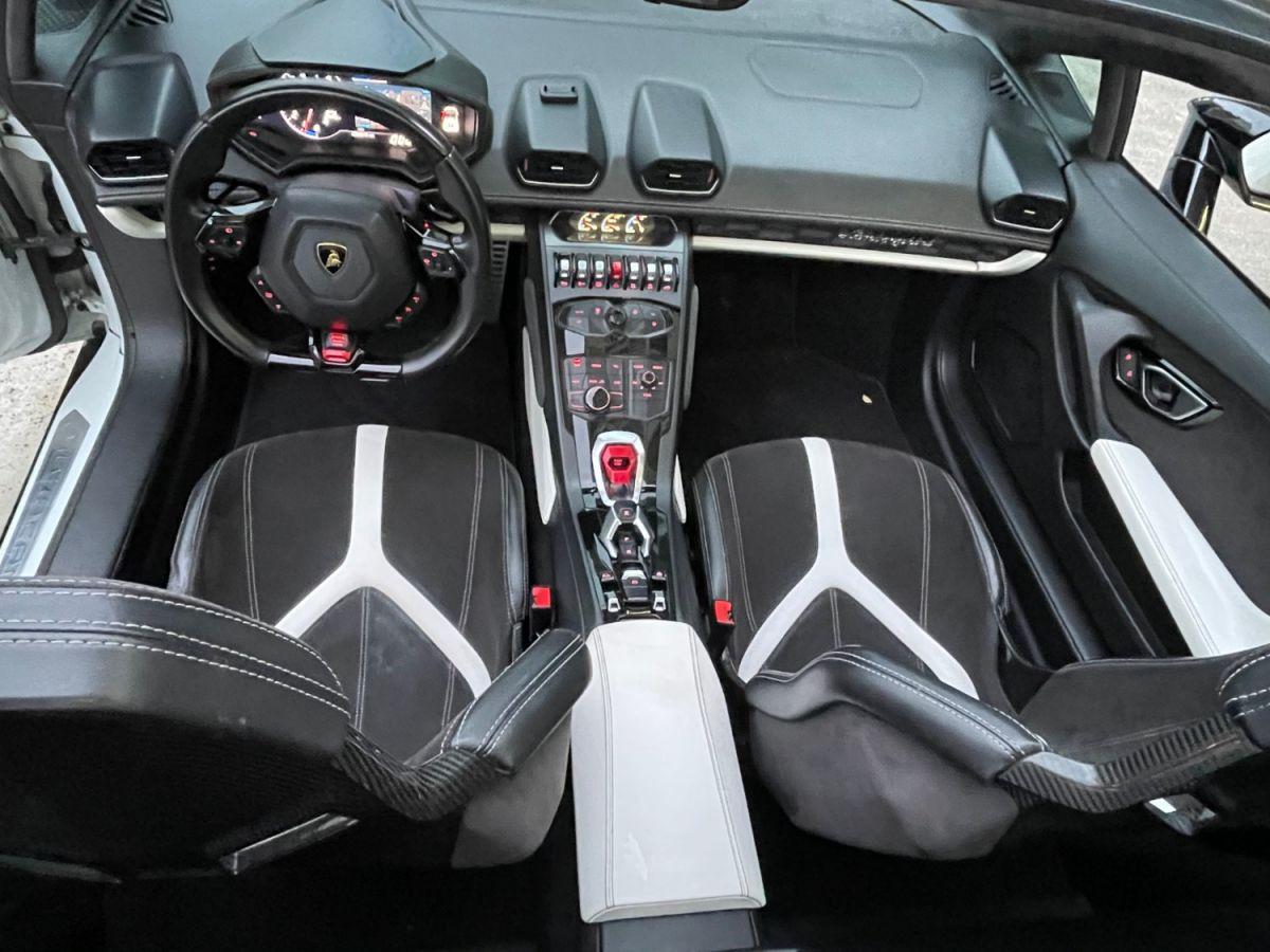 Lamborghini Huracan SPYDER LP 610-4 Blanc - 26