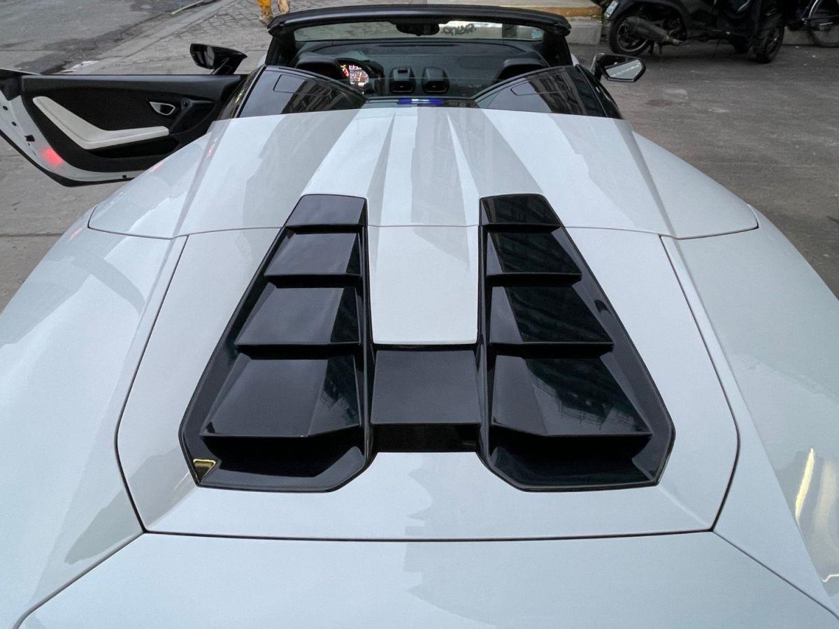 Lamborghini Huracan SPYDER LP 610-4 Blanc - 28