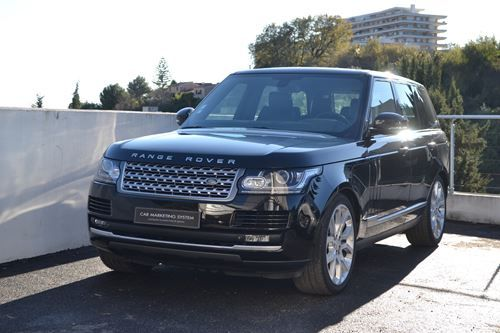 Land Rover Range Rover 4 IV 4.4 SDV8 VOGUE SWB Noir - 1