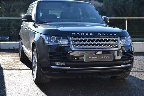 Land Rover Range Rover 4 IV 4.4 SDV8 VOGUE SWB Noir - 3