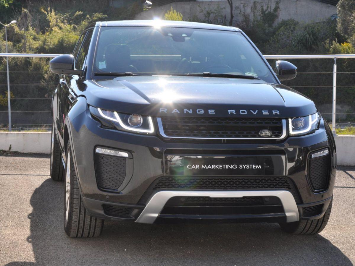 Land Rover Range Rover Evoque TD4 180 HSE Noir - 3