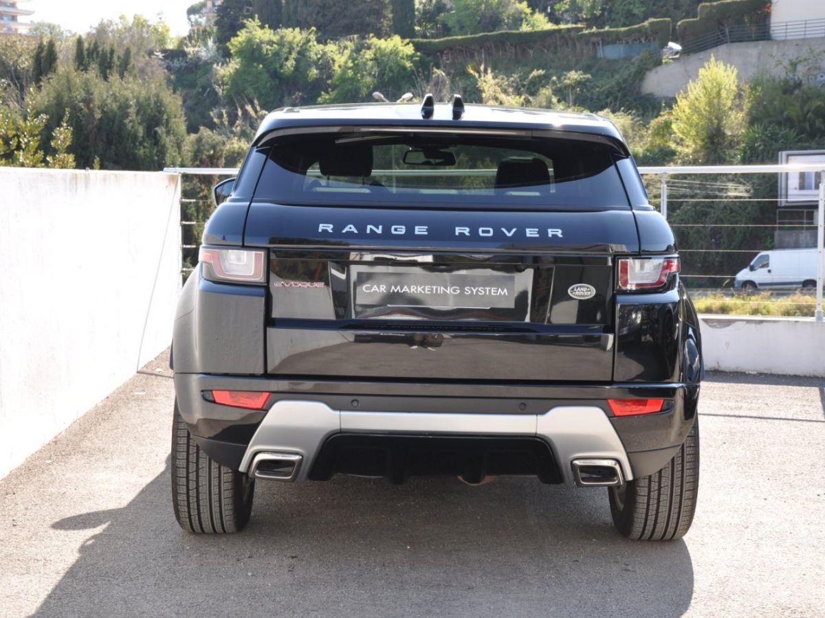 Land Rover Range Rover Evoque TD4 180 HSE Noir - 5