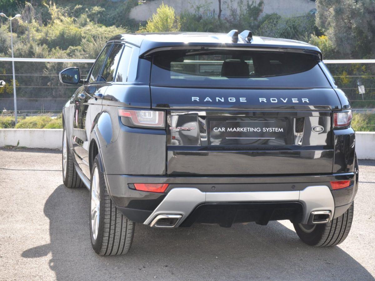 Land Rover Range Rover Evoque TD4 180 HSE Noir - 6