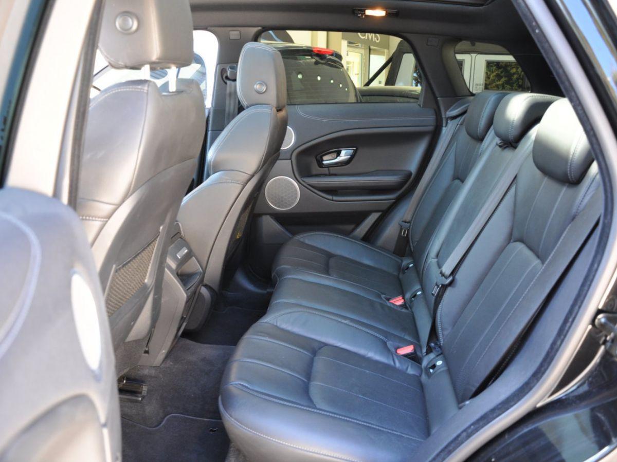 Land Rover Range Rover Evoque TD4 180 HSE Noir - 10
