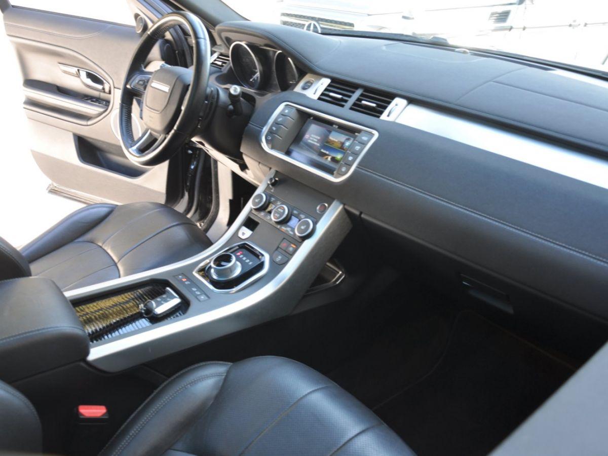 Land Rover Range Rover Evoque TD4 180 HSE Noir - 11