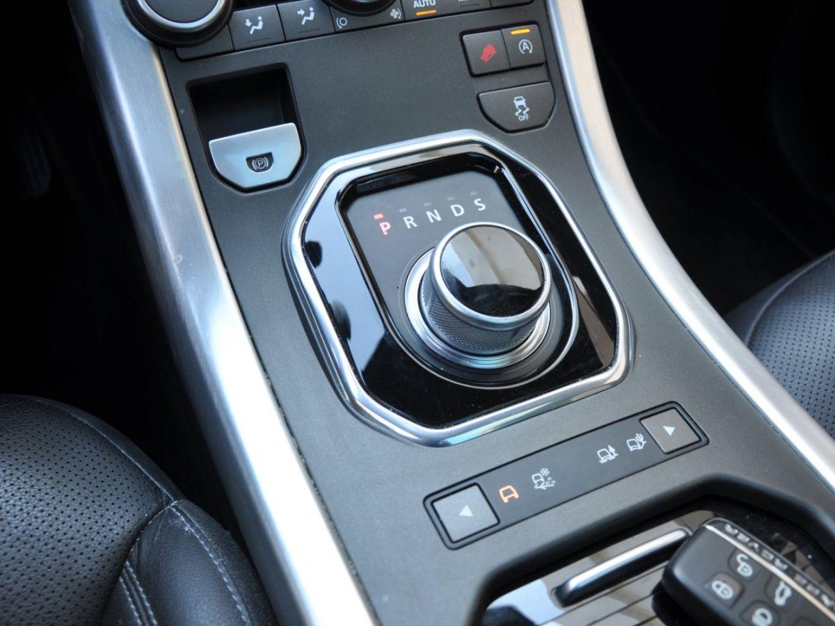 Land Rover Range Rover Evoque TD4 180 HSE Noir - 15