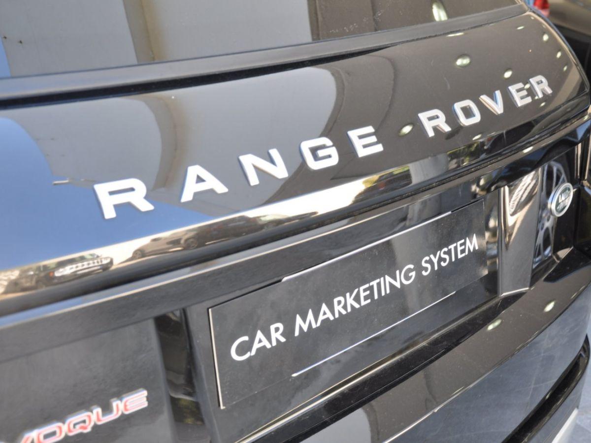 Land Rover Range Rover Evoque TD4 180 HSE Noir - 29