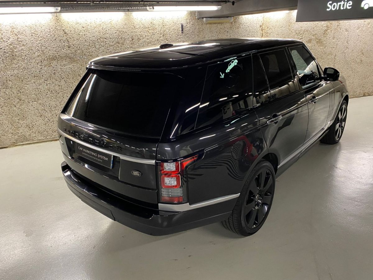 Land Rover Range Rover LAND ROVER RANGE ROVER IV 3.0 TDV6 AUTOBIOGRAPHY SWB Gris Foncé - 4
