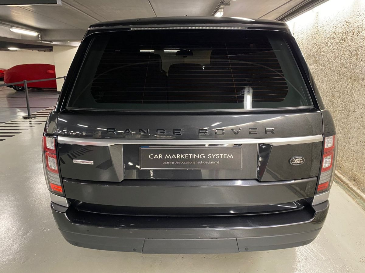 Land Rover Range Rover LAND ROVER RANGE ROVER IV 3.0 TDV6 AUTOBIOGRAPHY SWB Gris Foncé - 8