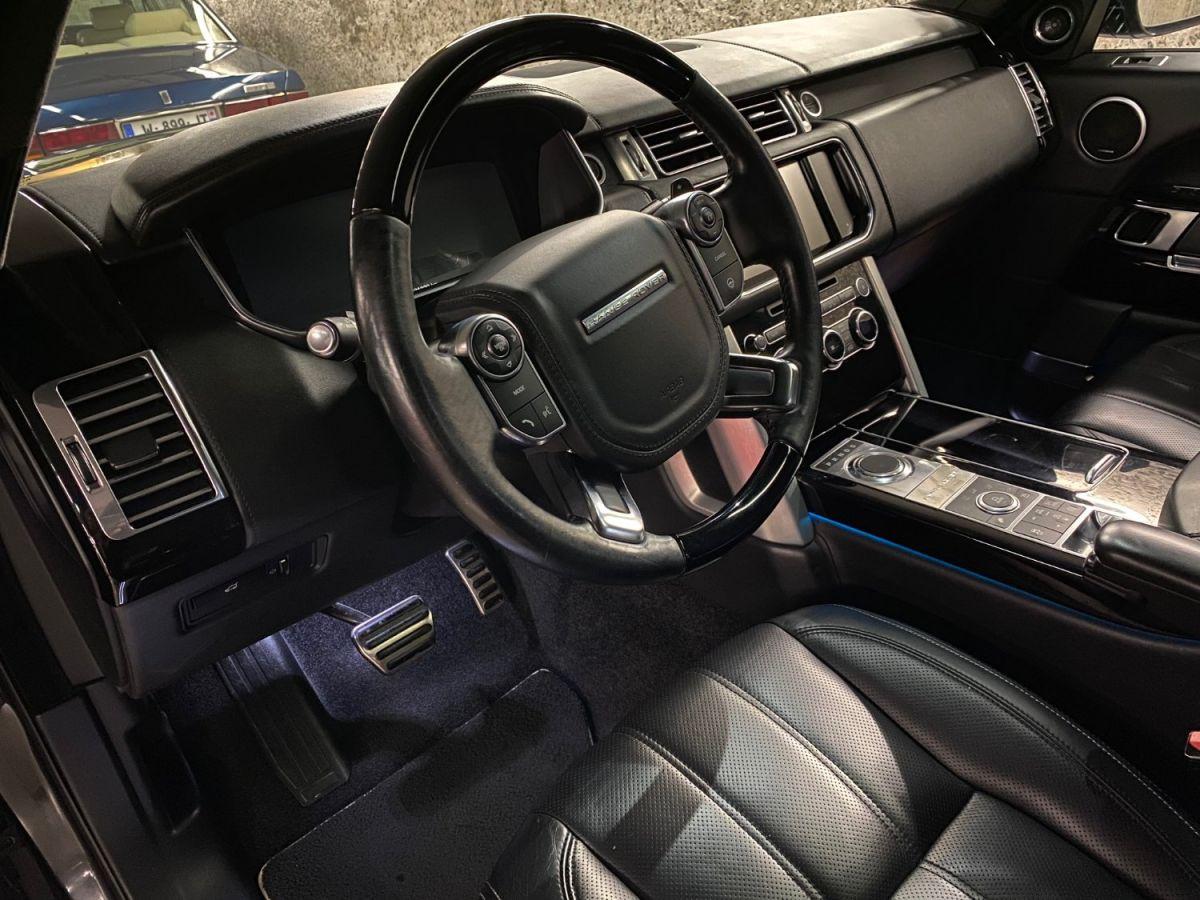 Land Rover Range Rover LAND ROVER RANGE ROVER IV 3.0 TDV6 AUTOBIOGRAPHY SWB Gris Foncé - 16
