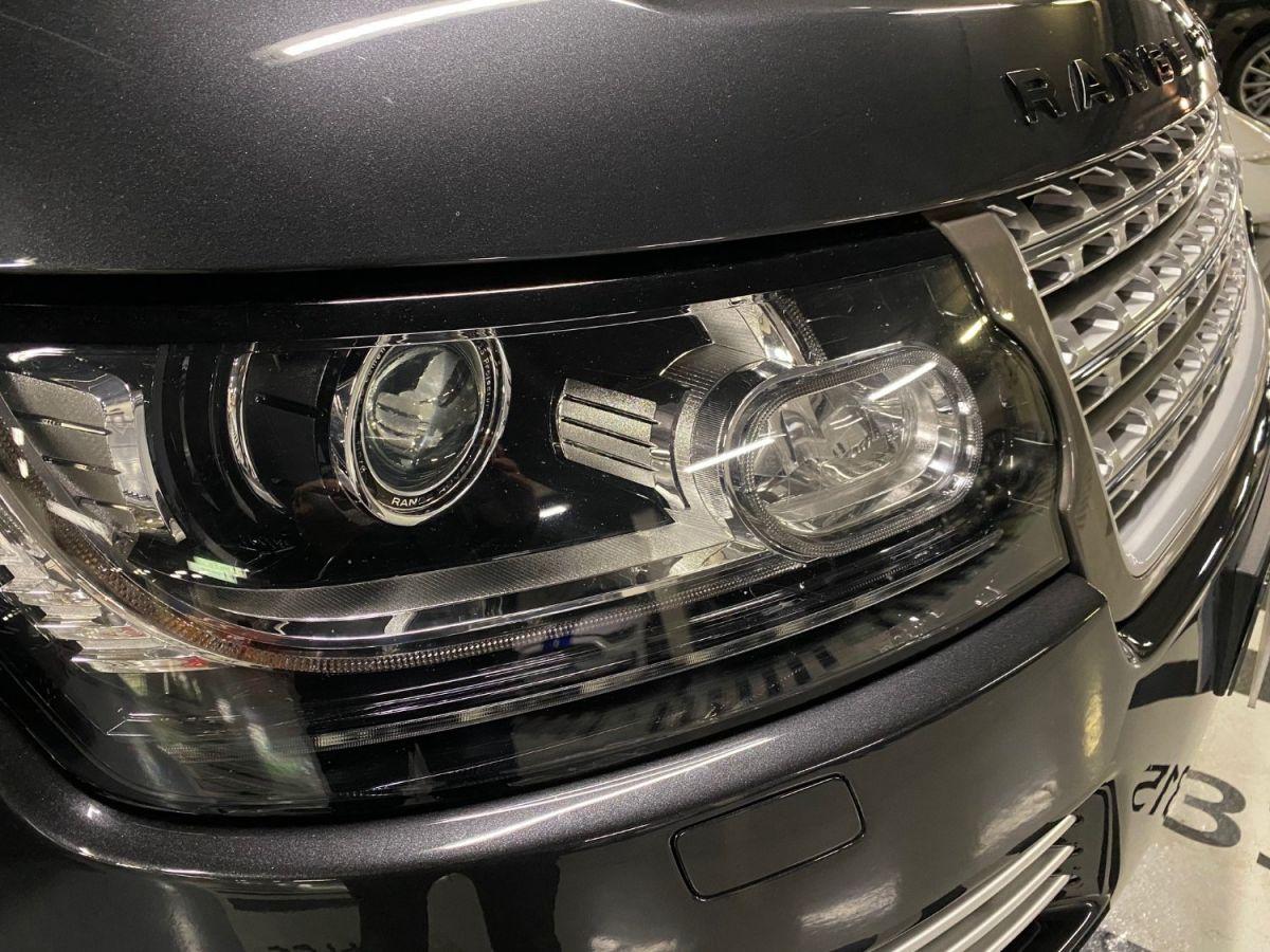 Land Rover Range Rover LAND ROVER RANGE ROVER IV 3.0 TDV6 AUTOBIOGRAPHY SWB Gris Foncé - 34