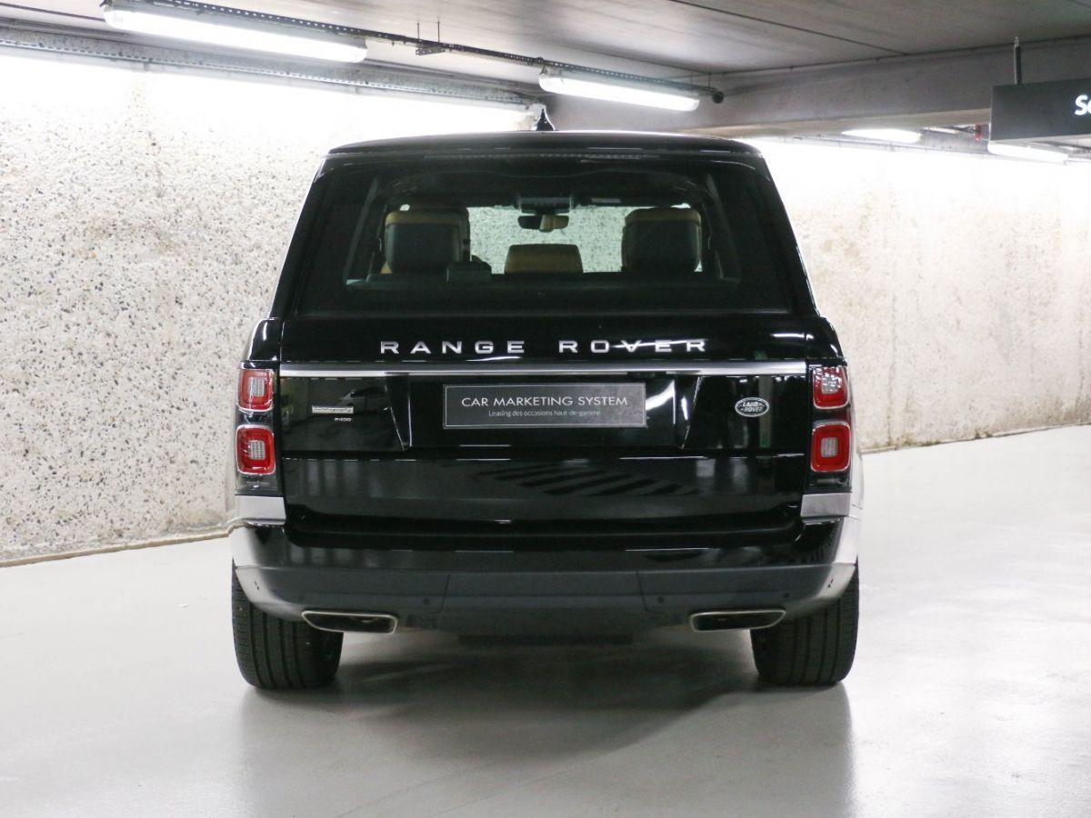 Land Rover Range Rover RANGE ROVER IV (2) 3.0 P400 SI6 AUTOBIOGRAPHY SWB Noir Métallisé - 7